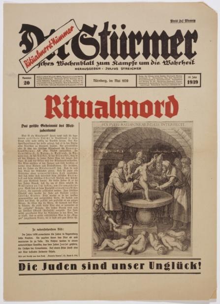 Accusa del sangue nazisti santi