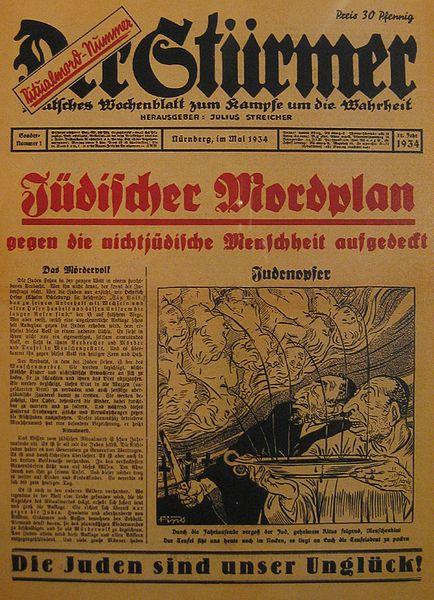 Accusa del sangue nazisti
