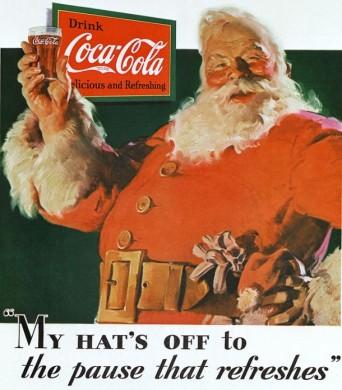 1931: la prima comparsa di Babbo Natale in veste di promoter della Coca Cola