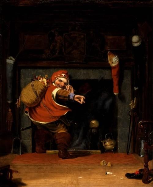 Babbo Natale Robert Weir 1837