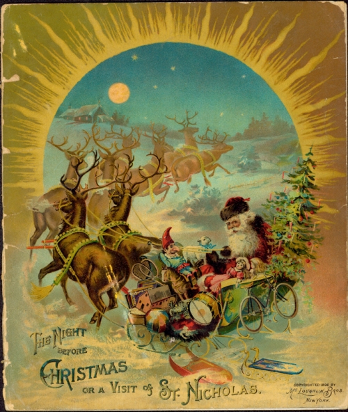 """The Night before Christmas, or A Visit of St. Nicholas"", 1896, McLoughlin Bros"