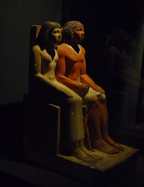 """Ancient egyptian couple"", di Lemondjinn (Museo di Alessandria d'Egitto)"