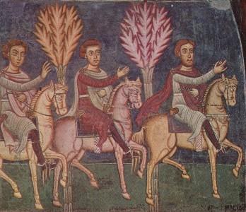 I messi di Costantino si mettono in viaggio per cercare il Papa
