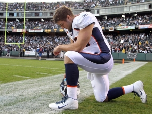 Tim Tebow, tebowing