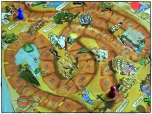 15 giugno 2014, giorno 14 dei miei #100happydays: battere il blogger cattolico ClaudioLXXXI ad una partita di monopoli / trivial pursuit a tema biblico. OH YEAH.
