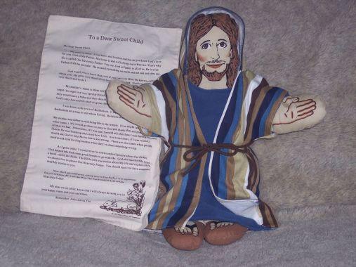 """""""My Loving Jesus Doll"""" - click sull'immagine per accedere alla pagina prodotto"""