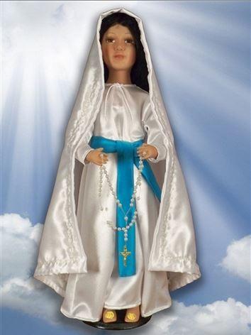 """Bambola """"Nostra Signora di Lourdes"""" per la serie Santly Sisters - click sull'immagine per accedere alla pagina prodotto"""