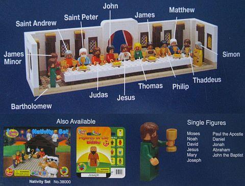 """""""The Last Supper Block Set"""" - click sull'immagine per accedere alla pagina prodotto"""