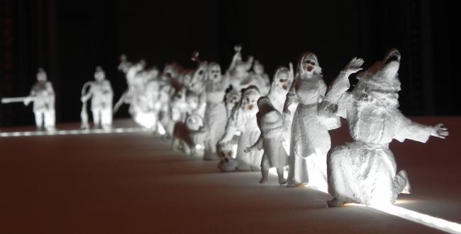 Il Presepe che non torna, Richi Ferrero, 2014. Fotografia mia