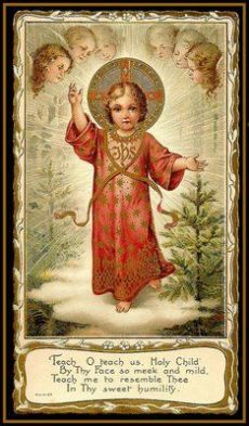 Gesù Bambino benedicente 7
