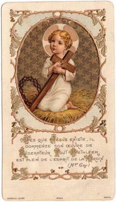 Gesù Bambino della Passione 1