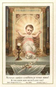 Gesù Bambino Eucaristico 2