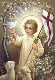 Gesù Bambino risorto