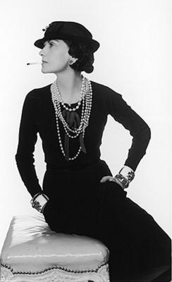 Coco Chanel Tubino nero