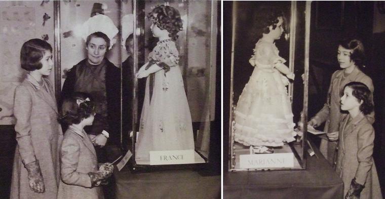 Elisabetta e Margaret visitano la mostra di St. James Palace