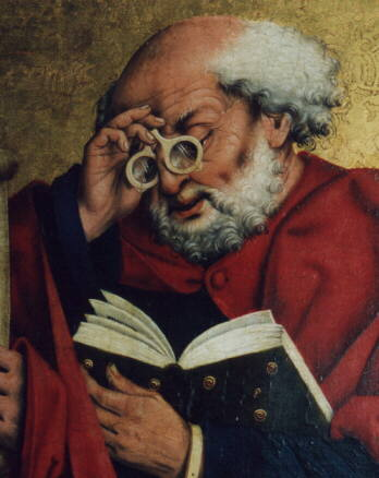 friedrich-herlin-reading-saint-peter-1466