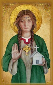 Santa Thaney, talora confusa dal folkore con santa Dwynwen del Galles