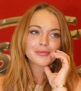 """Lindsay Lohan è un'altra che non si separa mai dal """"Love"""""""