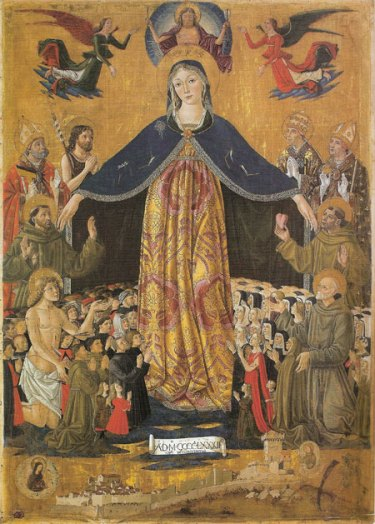 Madonna Misericordia Bartolomeo Caporali