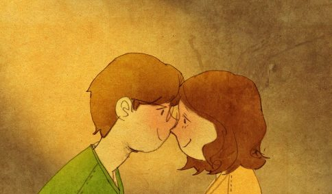 puuung-love-is-illustration-art-book-cosmic-orgasm-lovers-daily-life-small-things-romance-kiss-face