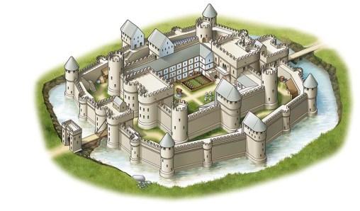 Castello Medievale Immaginario