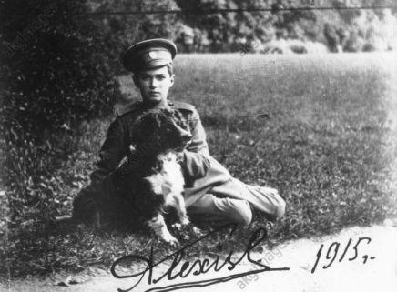 Alexei e il cane Joy