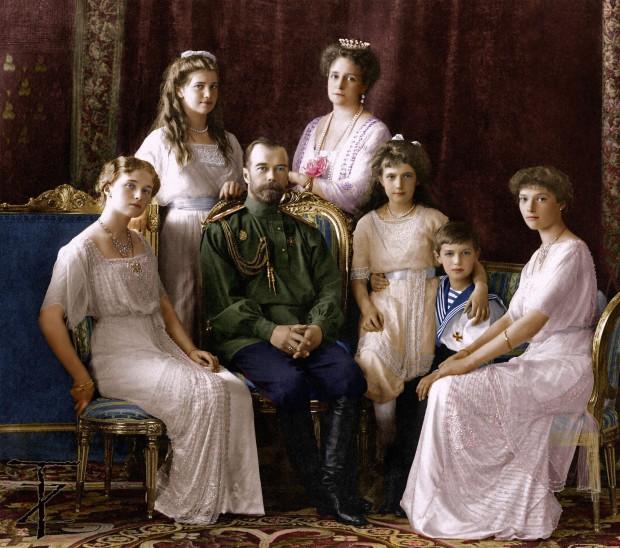 Famiglia Romanov 1913