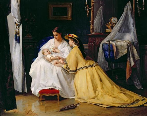first-born-by-gustave-leonard-de-jonghe1