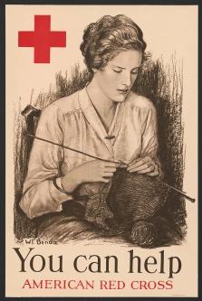 Croce Rossa USA Lavoro a maglia