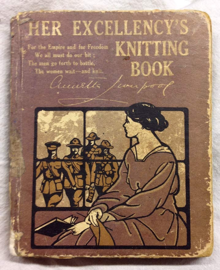 Knitting Book Prima Guerra Mondiale
