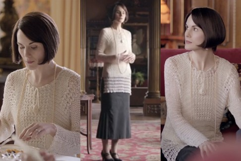 Maglione di lana Downton Abbey