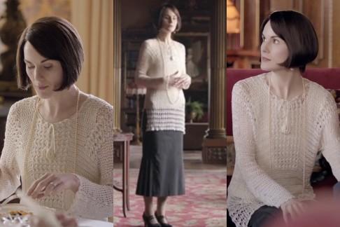Maglione di lana Downton Abbey