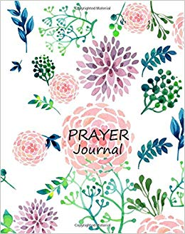 prayer journal log corner