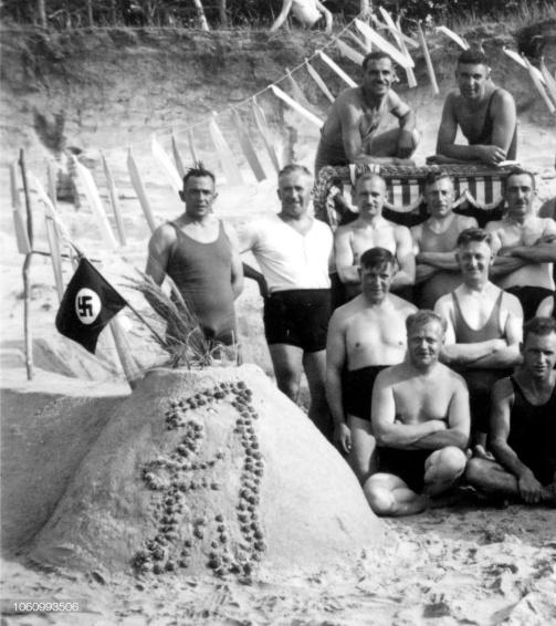 1935 castello sabbia