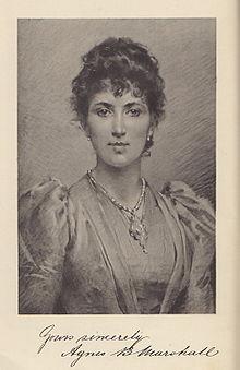 Agnes Mashall Regina dei Gelati